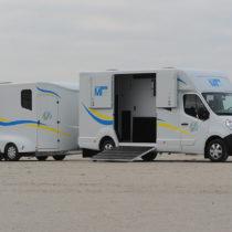 Transport Racehorses Didier Louis